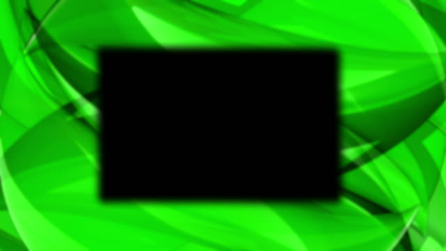 abstract green background with rectangle shape in the center - design element stock videos & royalty-free footage