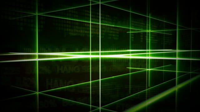 cgi, abstract green lines - crisscross stock videos & royalty-free footage