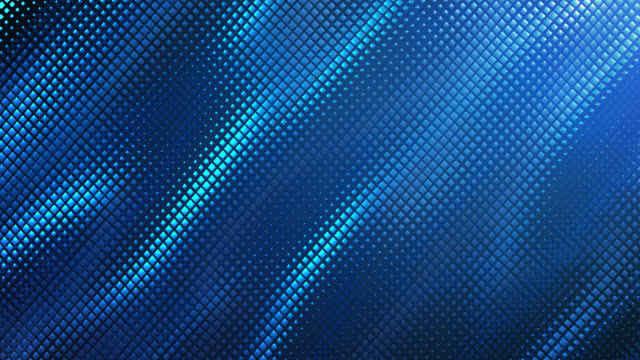abstract grid background (blue) - loop - textured effect stock videos & royalty-free footage