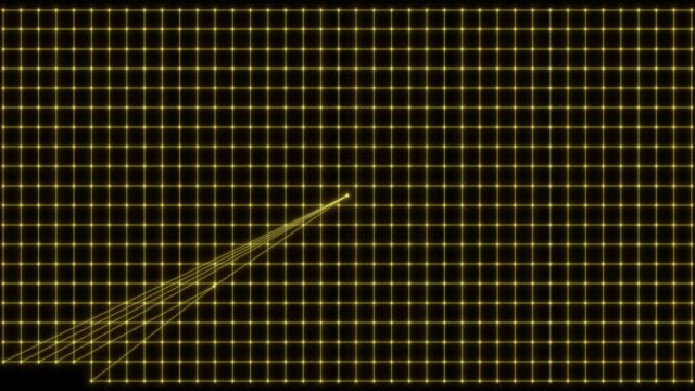 abstract grid line background - cyborg video stock e b–roll