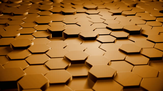 Abstract Hexagon-Hintergrund (Loopable)