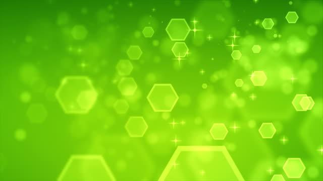 4K abstracte Hexagon groen achtergronden loopbare
