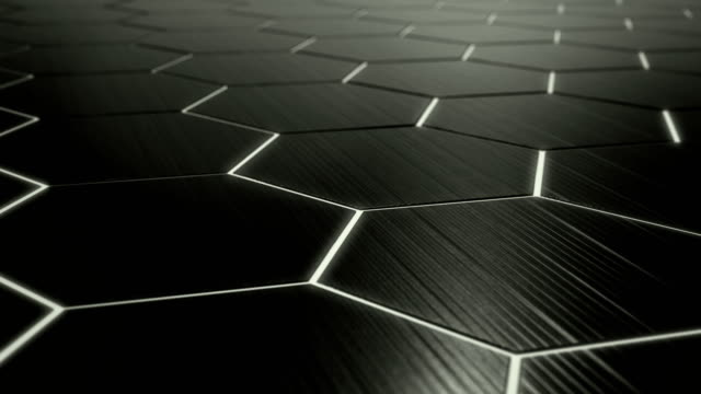 4K Abstract Hexagon Technology Background loopable