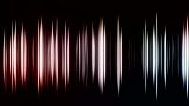 抽象的な水平線ループ可能な背景 - レーザー点の映像素材/bロール
