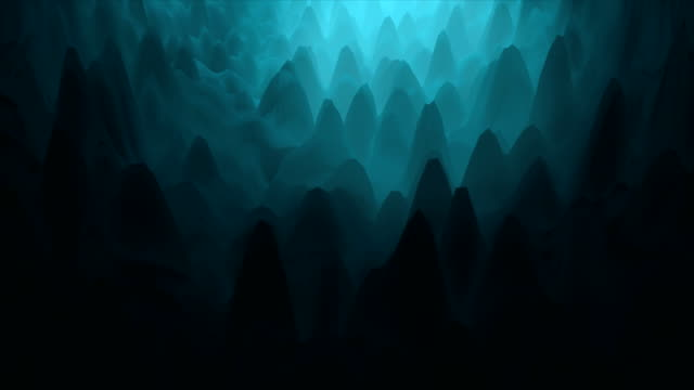 abstract ice cave motion background - ghiacciato video stock e b–roll