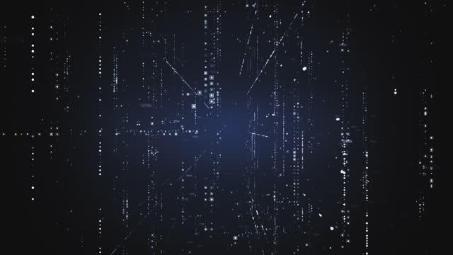 abstrakt belysta partiklar med data bakgrundstextur. - digitally generated image bildbanksvideor och videomaterial från bakom kulisserna