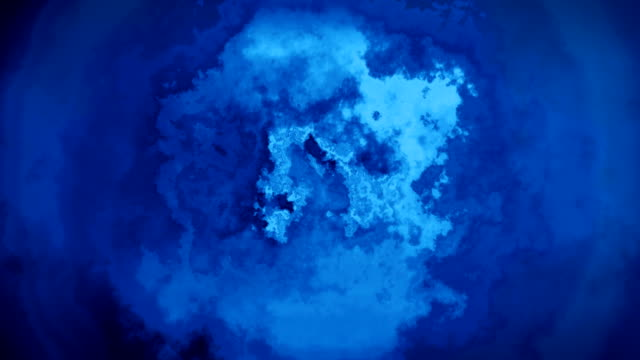 abstract ink background - blue stock videos & royalty-free footage