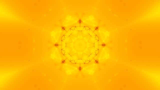 Abstract kaleidoscope background loop