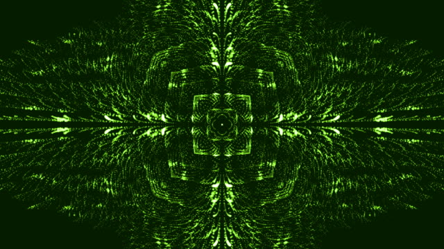 abstract kaleidoscope background - video jockey stock videos & royalty-free footage