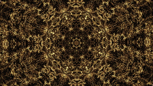 abstract kaleidoscopic background - mandala stock videos & royalty-free footage