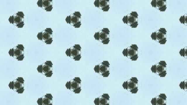vídeos y material grabado en eventos de stock de fondo abstracto kaleidoscopic - concéntrico