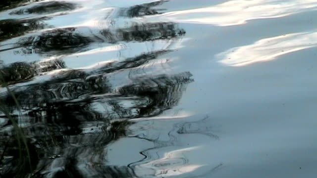abstract lake reflection - anamorphic stock videos & royalty-free footage