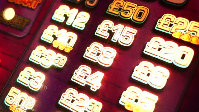 4k abstract light in casino, london - fruit machine stock videos & royalty-free footage