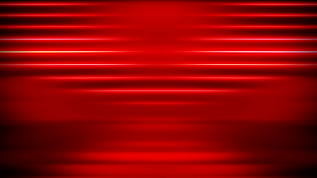 abstract light lines background - loopable - red video stock e b–roll