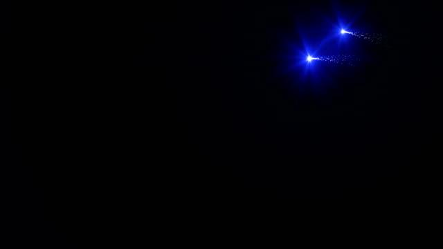 Abstract Light Streak