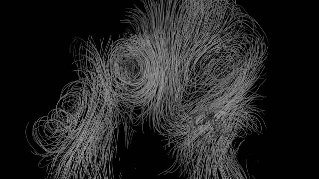 abstract line art - morphing stock videos & royalty-free footage