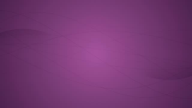 vídeos de stock e filmes b-roll de abstract lines background stock video 4k - lightweight