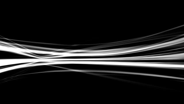 Abstract lines on dark background