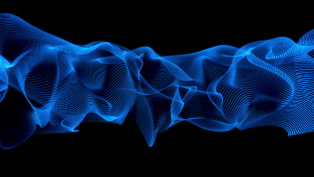 abstract lines wave background - smooth stock videos & royalty-free footage