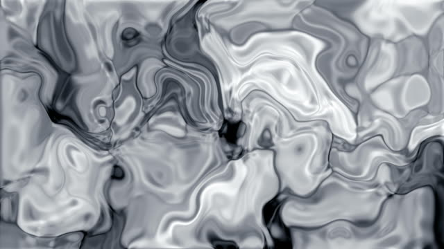 abstract liquid background - silver metal stock videos and b-roll footage