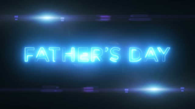 vídeos y material grabado en eventos de stock de abstract loop happy father's day concept - father day