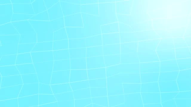 Abstract low-poly blue element design background