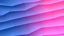 Abstract low-poly colorful element design background