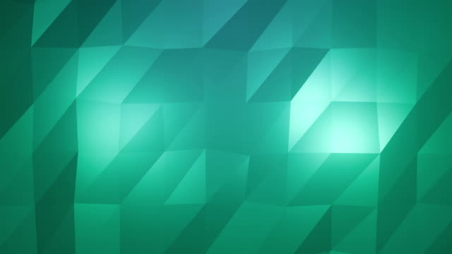 abstract low-poly green element design background - triangle shape stock videos & royalty-free footage