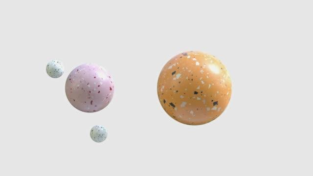 vídeos de stock, filmes e b-roll de imagem de mármore abstrato 3d gráfico de movimento de renderização - elemento de desenho