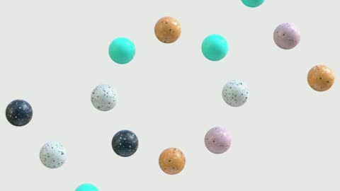 abstract marble shape 3d rendering motion graphic - mineral stock videos & royalty-free footage