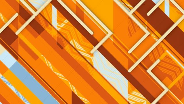 vídeos y material grabado en eventos de stock de movimiento mecánico abstracto en fondo de vídeo de estilo moderno. diseño gráfico de movimiento. animación de bucle sin interrupciones de renderizado 3d. resolución 4k, ultra hd - animación biomédica