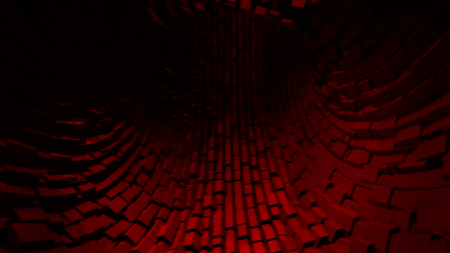 abstract metallic tunnel background - hypnosis stock videos and b-roll footage