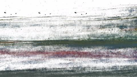 vídeos y material grabado en eventos de stock de el otro movimiento - rastros de abstractos, minimalistas - fondo blanco (descolórese hacia fuera) - técnica de textura grunge