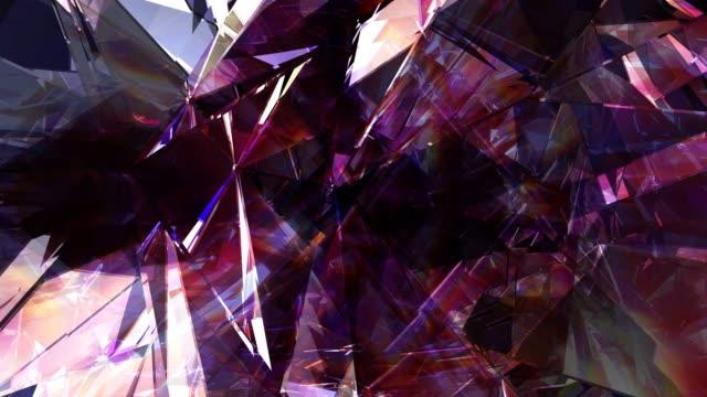 abstract modern background 4k loop - precious gem stock videos & royalty-free footage