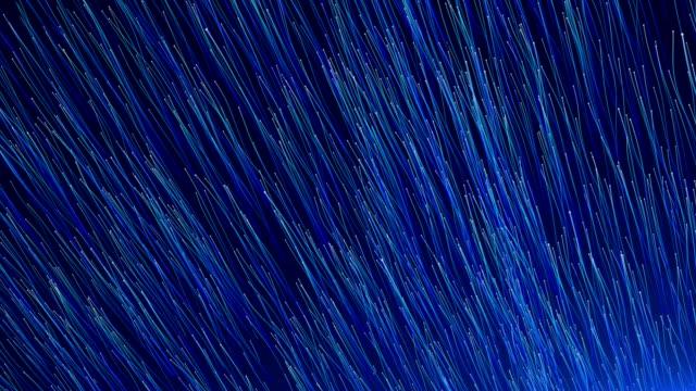 vídeos y material grabado en eventos de stock de estructura de la red moderna abstracta de 4k - azul oscuro