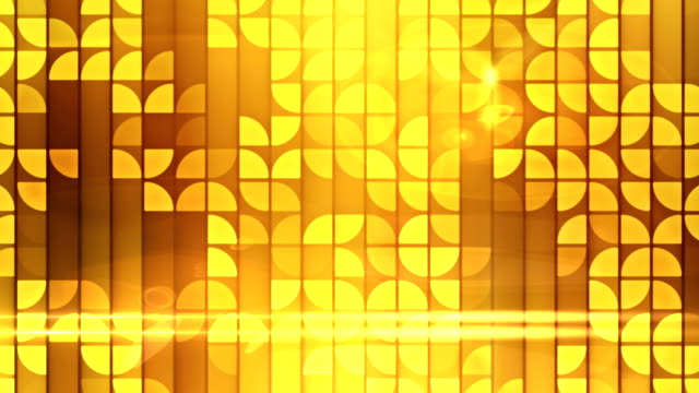 Abstract mosaic loopable background