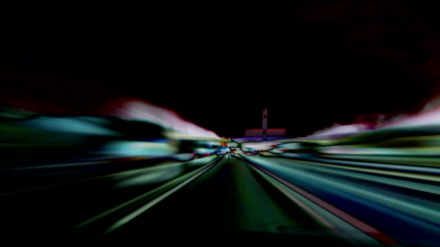 abstract motorway loop. hd, ntsc, pal - motorway stock videos & royalty-free footage