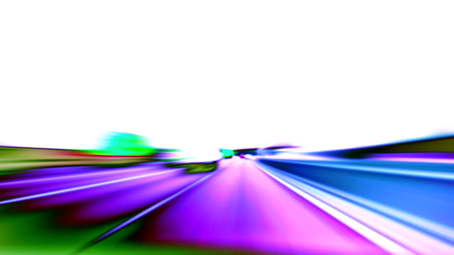 abstract motorway loop. hd - chasing stock videos and b-roll footage