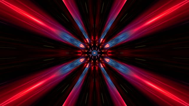 abstract multi colored kaleidoscope - symmetry stock videos & royalty-free footage