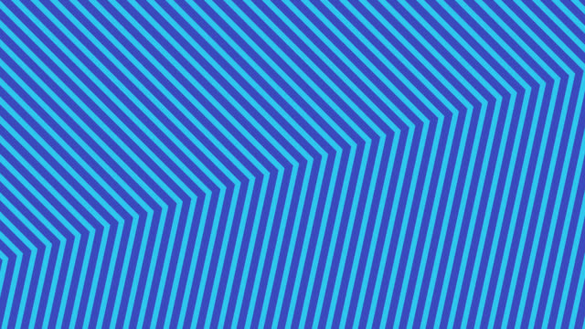 vídeos de stock e filmes b-roll de abstract neon blue light arrow direction on blue blackgroud - cor néon