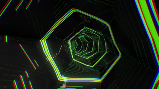 4k abstract neon digital technology tunnel - reality tv stock videos & royalty-free footage
