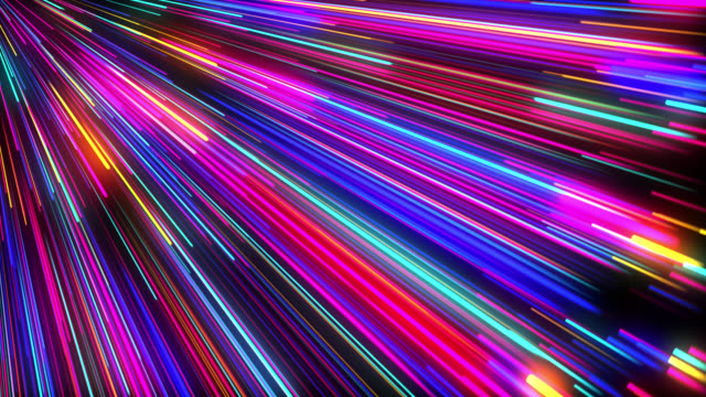 abstract neon lights background - swirl stock videos & royalty-free footage