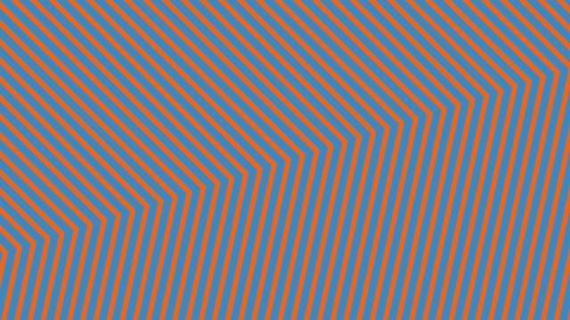 vídeos de stock e filmes b-roll de abstract neon orange light arrow direction on blue blackgroud - cor néon