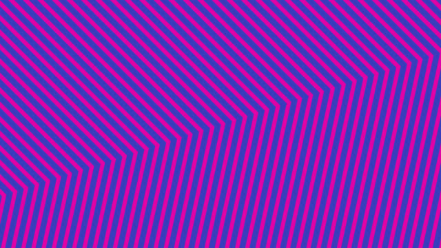 abstract neon pink light arrow direction on blue blackgroud - neon coloured stock videos & royalty-free footage
