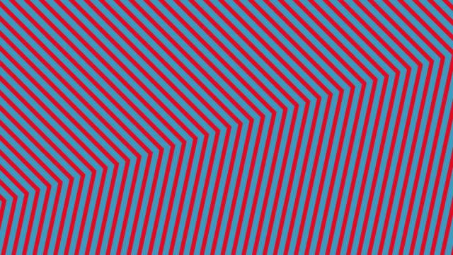 vídeos de stock e filmes b-roll de abstract neon red light arrow direction on blue blackgroud - cor néon