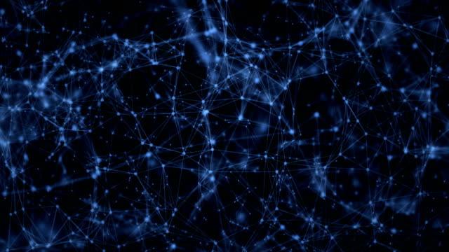 Abstrakte Netzwerk-Hintergrund