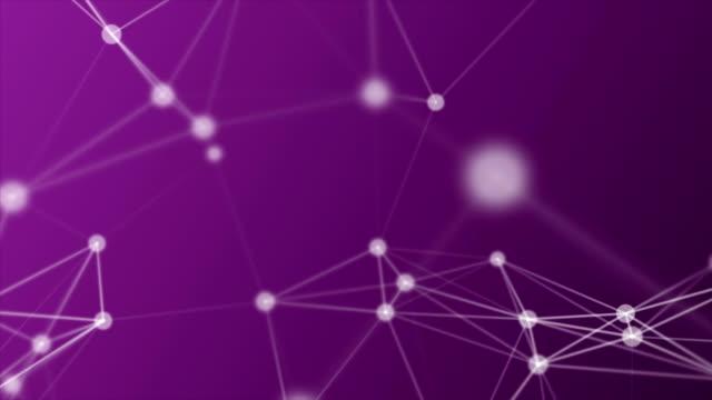 vídeos de stock, filmes e b-roll de conexões de rede abstratas - joining the dots