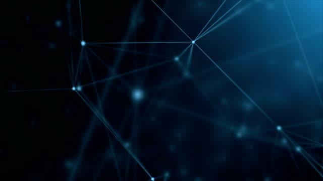 abstrakte netzanschlüsse - connection in process stock-videos und b-roll-filmmaterial