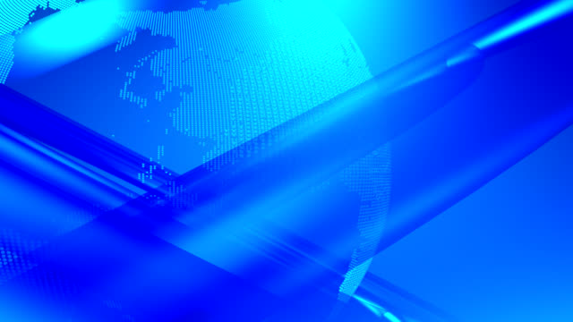Abstract News Backgroundearth Animation With A Modern Look Last 450 Frames Stock Footage Video