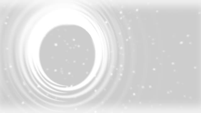 abstract of circle loop white - glowworm stock videos & royalty-free footage